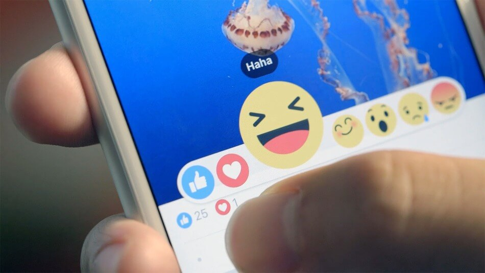 "Facebook ""Реакции"""